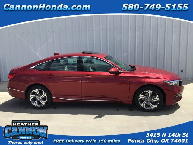 2019 Honda Accord Sedan EX-L 1.5T Ponca City OK