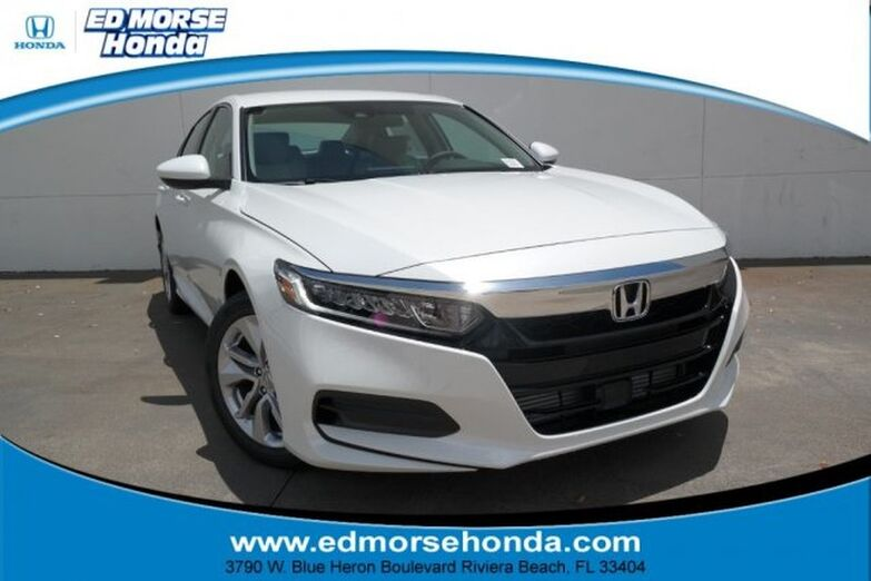 2019 Honda Accord Sedan LX 1.5T CVT Riviera Beach FL