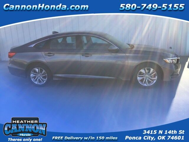2019 Honda Accord Sedan LX 1.5T Ponca City OK