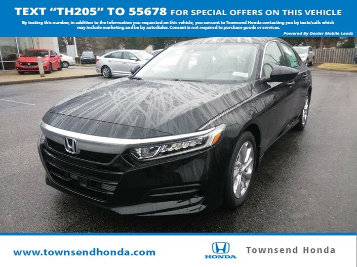 2019 Honda Accord Sedan LX 1.5T Tuscaloosa AL