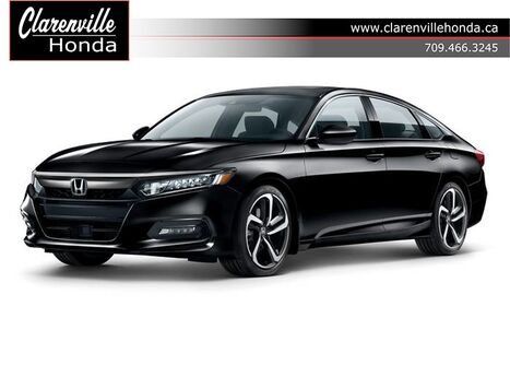 2019 Honda Accord Sedan Sport - DEMO Clarenville NL