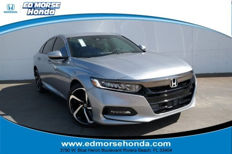 2019 Honda Accord Sedan Sport 1.5T CVT Riviera Beach FL