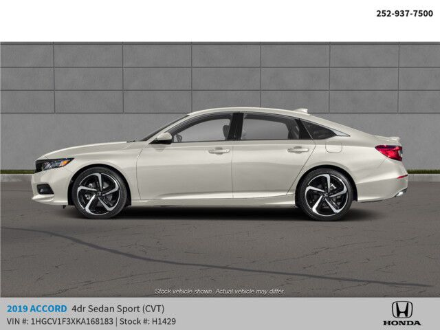 2019 Honda Accord Sedan Sport 1.5T CVT Rocky Mount NC