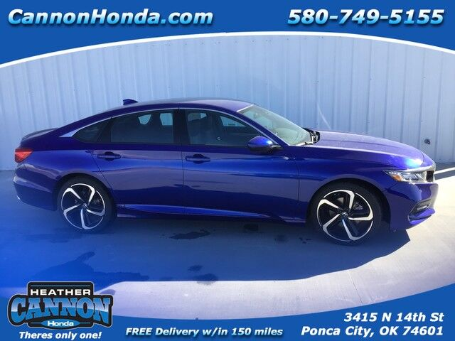2019 Honda Accord Sedan Sport 1.5T Ponca City OK