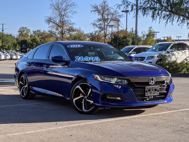 2019 Honda Accord Sedan Sport 2.0T San Antonio TX