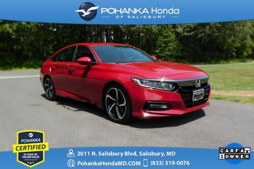 2019_Honda_Accord_Sport 2.0T ** Pohanka Certified 10 Year / 100,000  **_ Salisbury MD
