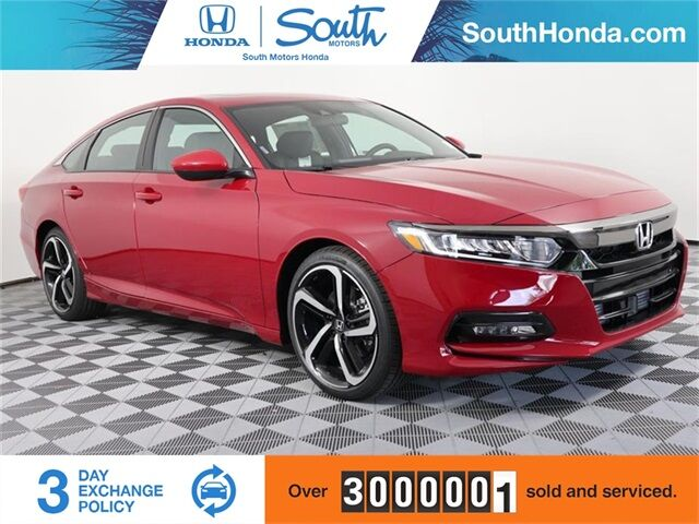 2019 Honda Accord Sport 2.0T Miami FL