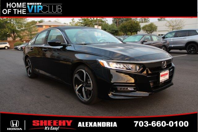 2019 Honda Accord Sport 2.0T 4D Sedan