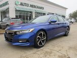 2019 Honda Accord Sport, Adaptive Cruise Control, Lane Departure, Bluetooth , Fog Lamps, UNDER FACTORY WARRANTY