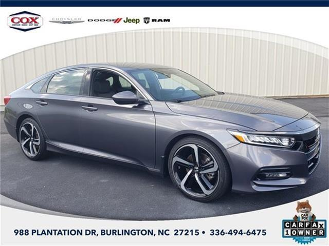 2019 Honda Accord Sport (CVT) Sedan Burlington NC