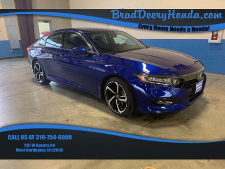 2019 Honda Accord Sport West Burlington IA