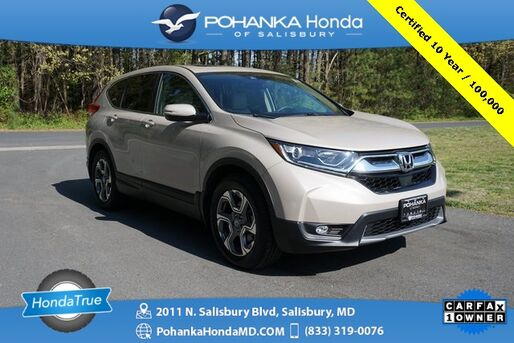 2019_Honda_CR-V_EX ** Honda True Certified 7 Year / 100,000  **_ Salisbury MD