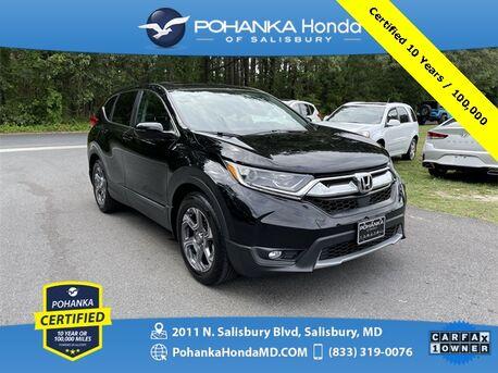 2019_Honda_CR-V_EX ** Pohanka Certified 10 Year / 100,000 **_ Salisbury MD