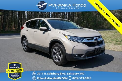 2019_Honda_CR-V_EX AWD ** Pohanka Certified 10 Year 100,000 **_ Salisbury MD