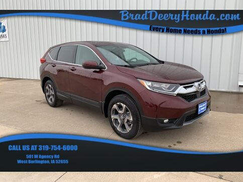 2019_Honda_CR-V_EX AWD_ West Burlington IA