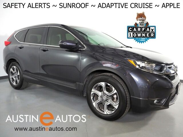 2019 Honda CR-V EX *BLIND SPOT & LANE DEPARTURE ALERT, COLLISION ALERT w/BRAKING, BACKUP-CAMERA, ADAPTIVE CRUISE, TOUCH SCREEN, MOONROOF, HEATED SEATS, BLUETOOTH, APPLE CARPLAY Round Rock TX