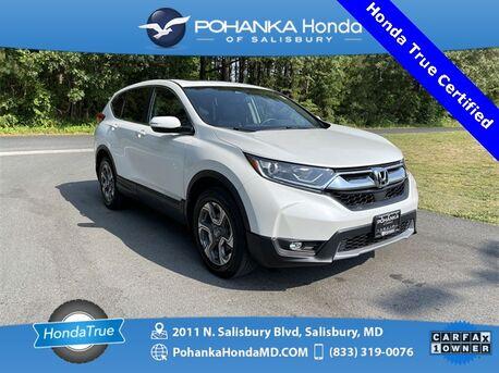 2019_Honda_CR-V_EX-L AWD ** Honda True Certified 7 Year / 100,000  **_ Salisbury MD