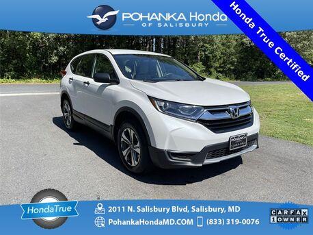 2019_Honda_CR-V_LX ** Honda True Certified 7 Year / 100,000 **_ Salisbury MD