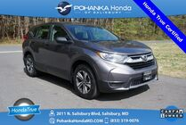 2019 Honda CR-V LX AWD ** Honda True Certified 7 Year / 100,000  **