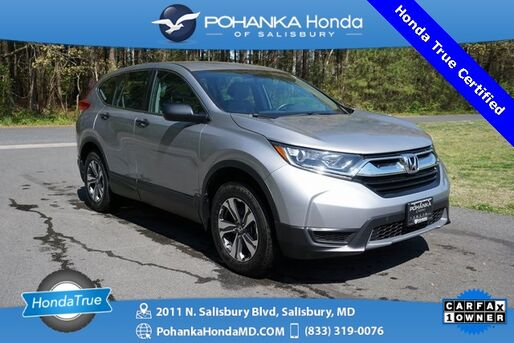 2019_Honda_CR-V_LX AWD ** Honda True Certified 7 Year / 100,000  **_ Salisbury MD