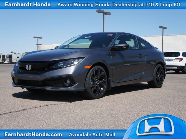 2019 Honda Civic Coupe Sport Manual Avondale AZ