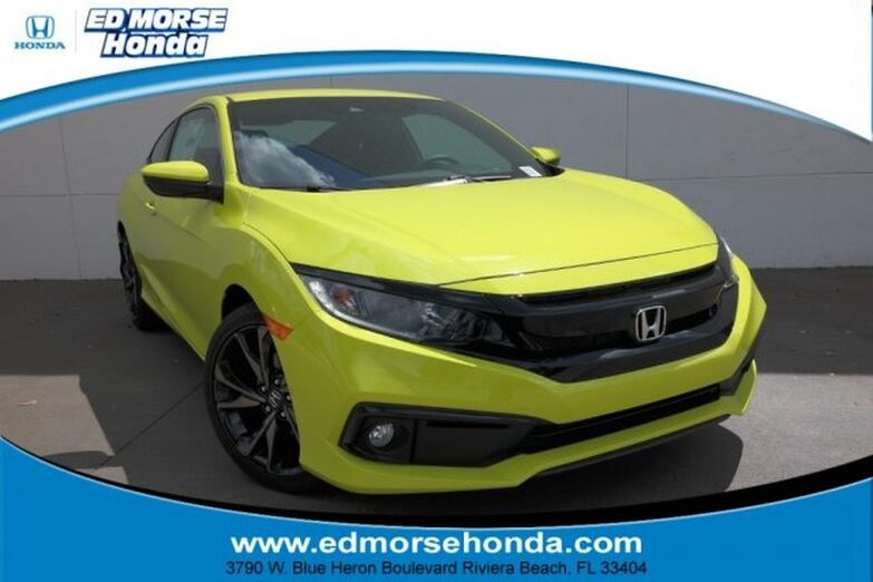 2019 Honda Civic Coupe Sport Manual Riviera Beach FL