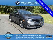 2019 Honda Civic EX ** Honda True Certified 7 Year / 100,000  **