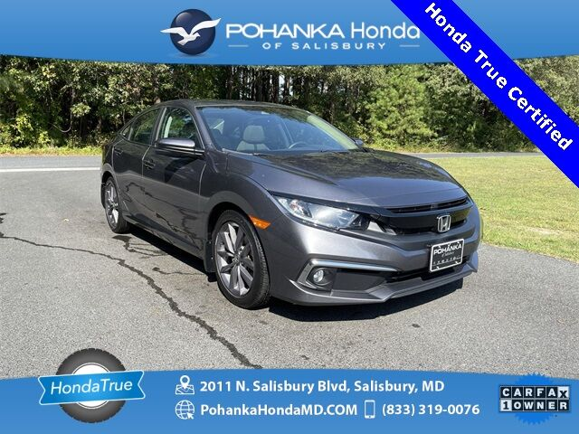 2019 Honda Civic EX ** Honda True Certified 7 Year / 100,000  ** Salisbury MD