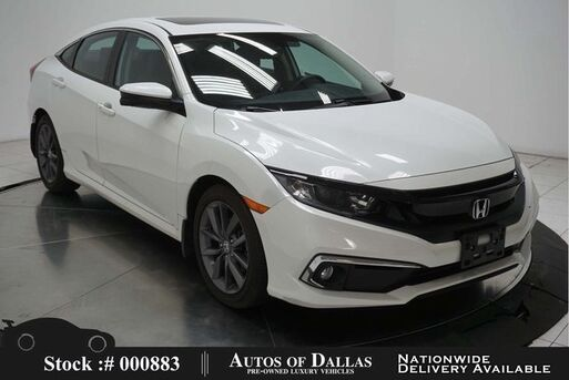 2019_Honda_Civic_EX-L CAM,SUNROOF,HTD STS,KEY-GO,17IN WLS_ Plano TX