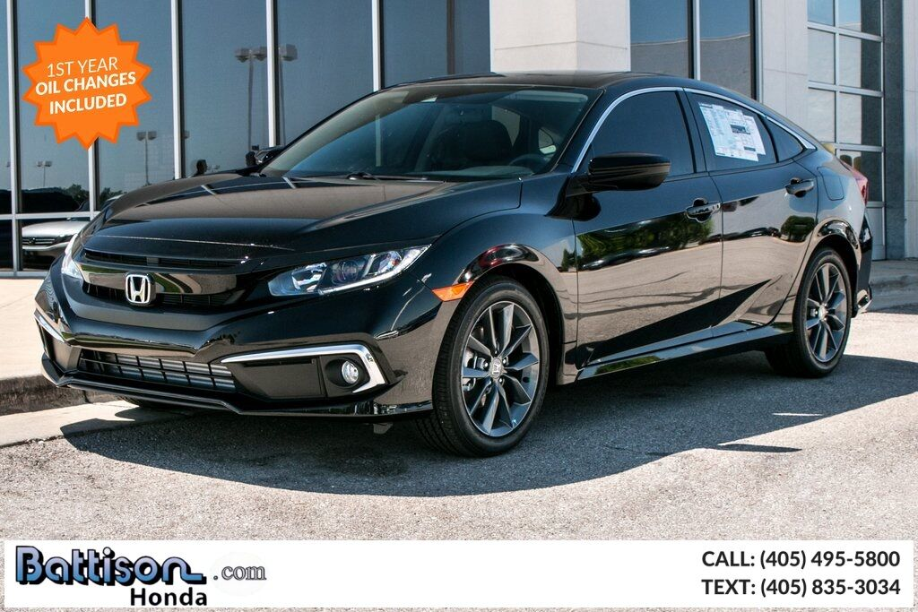 2019_Honda_Civic_EX-L_ Oklahoma City OK
