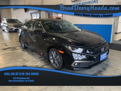 2019_Honda_Civic_EX-L_ West Burlington IA
