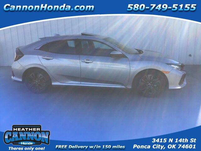 2019 Honda Civic Hatchback EX-L Navi Ponca City OK