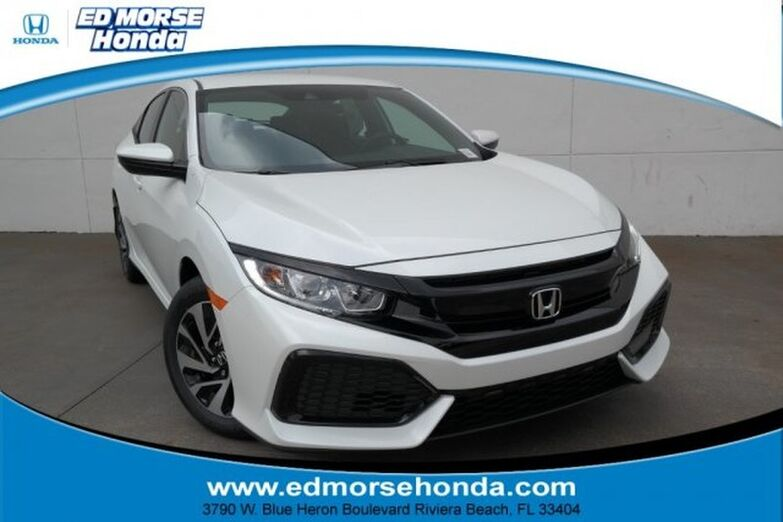 2019 Honda Civic Hatchback LX CVT Riviera Beach FL