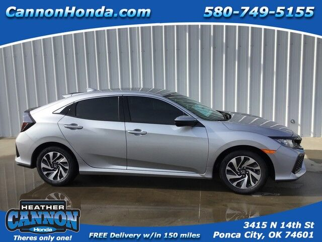 2019 Honda Civic Hatchback LX Ponca City OK