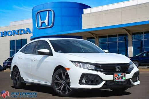 2019 Honda Civic Hatchback Sport Wichita Falls TX