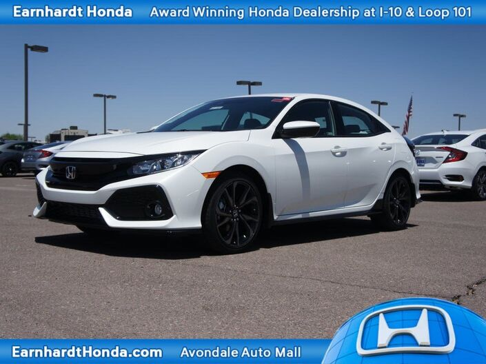 2019 Honda Civic Hatchback Sport Manual Avondale AZ