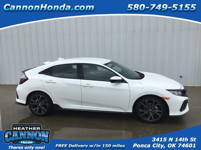 2019 Honda Civic Hatchback Sport Ponca City OK