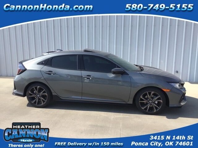 2019 Honda Civic Hatchback Sport Touring Ponca City OK