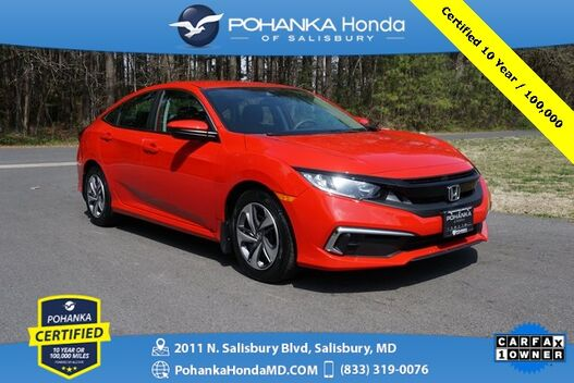 2019_Honda_Civic_LX ** Pohanka Certified 10 Year / 100,000 **_ Salisbury MD