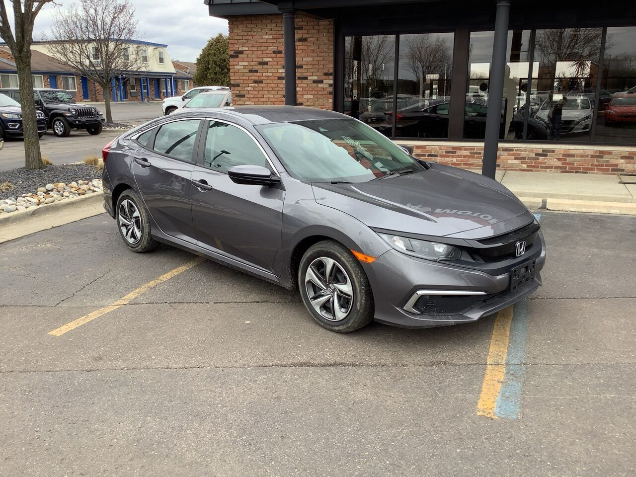 2019 Honda Civic LX 4dr Sedan CVT Chesterfield MI