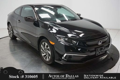 2019_Honda_Civic_LX Coupe BACK-UP CAMERA,16IN WHLS,LANE ASST_ Plano TX