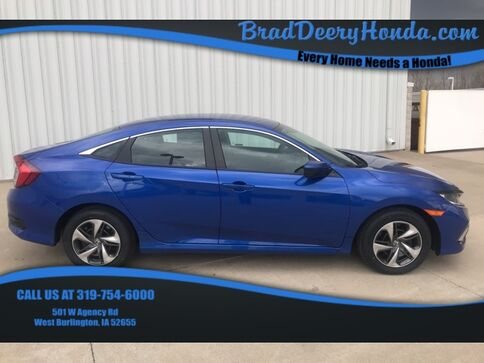 2019_Honda_Civic_LX_ West Burlington IA