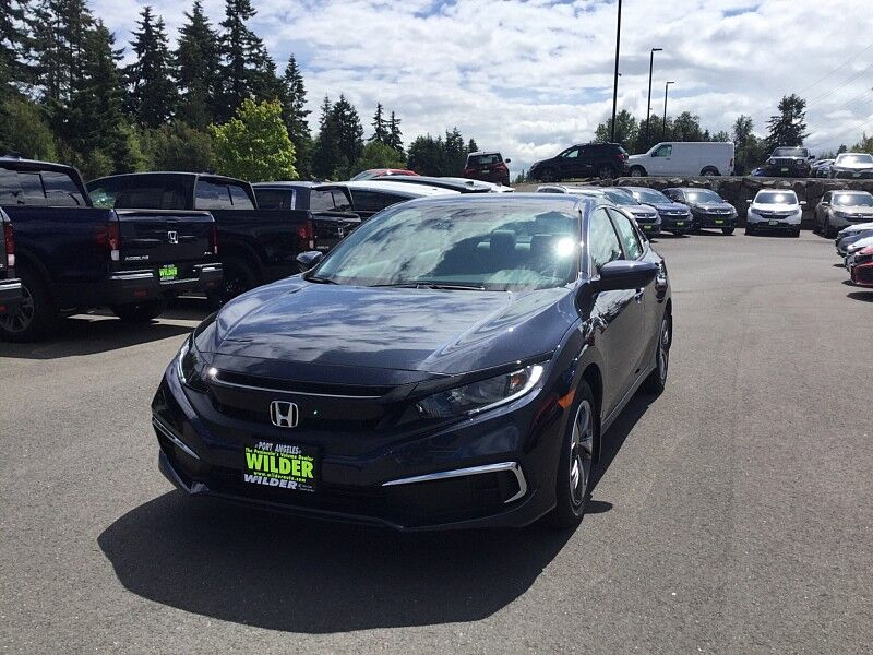 2019 Honda Civic Sedan 4d LX CVT