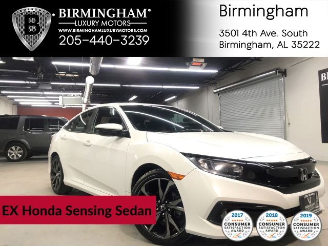 2019 Honda Civic Sedan EX Honda Sensing Sedan CVT
