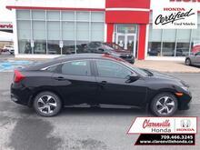 2019_Honda_Civic Sedan_LX CVT  - Certified - $144 B/W_ Clarenville NL