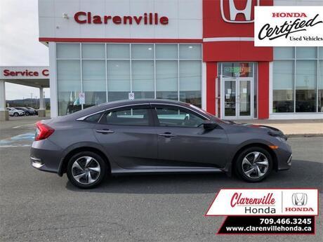2019 Honda Civic Sedan LX CVT  - Certified - Heated Seats - $152 B/W Clarenville NL