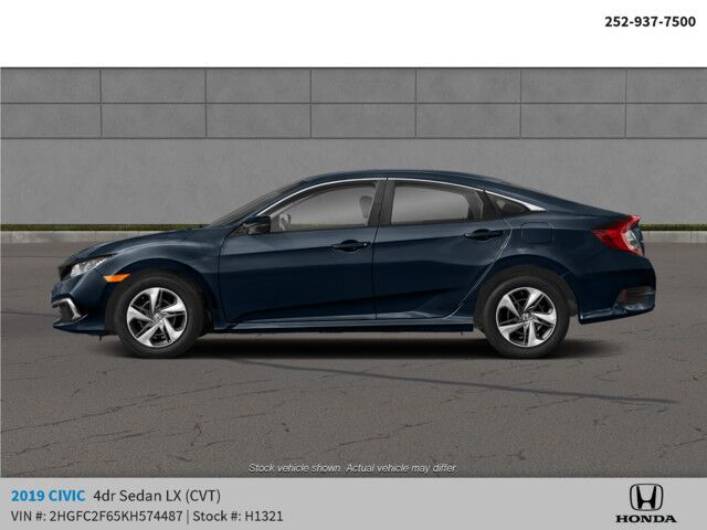 2019 Honda Civic Sedan LX CVT Rocky Mount NC