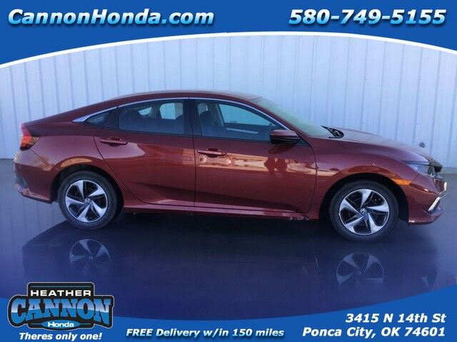 2019 Honda Civic Sedan LX Ponca City OK