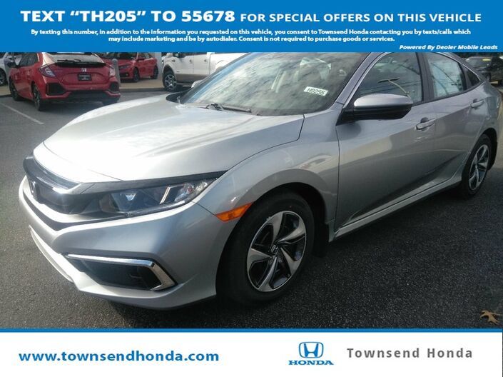 2019 Honda Civic Sedan LX Tuscaloosa AL
