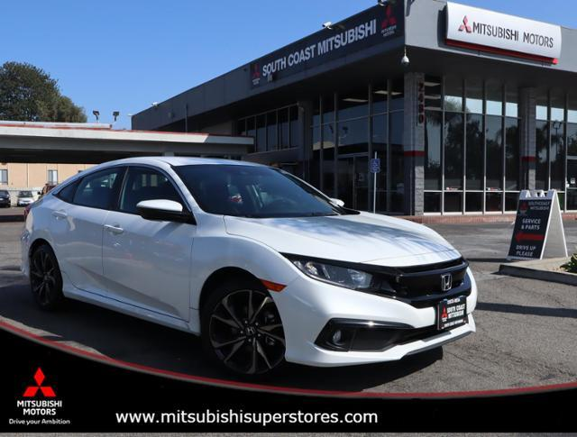 2019 Honda Civic Sedan Sport Cerritos CA